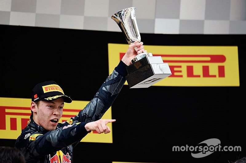 Kvyat voted 'Driver of the Day' in Chinese GP
