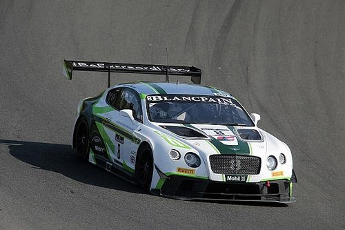 Bentley Motorsport finishes in third place at Brands Hatch