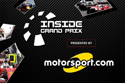 """Motorsport.com extends exclusive rights agreement to host """"Inside Grand Prix"""""""