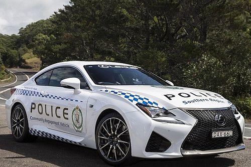 Lexus équipe à son tour la police australienne