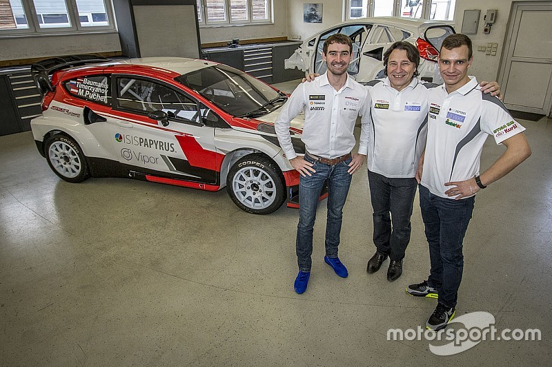 Timerzyanov and Baumanis join Team Austria in Rallycross