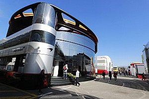Motorhomes keren op Spa terug in Formule 1-paddock