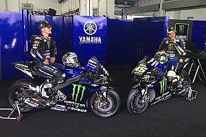 Yamaha apresenta moto M1 de 2020 com Viñales, Rossi e Lorenzo