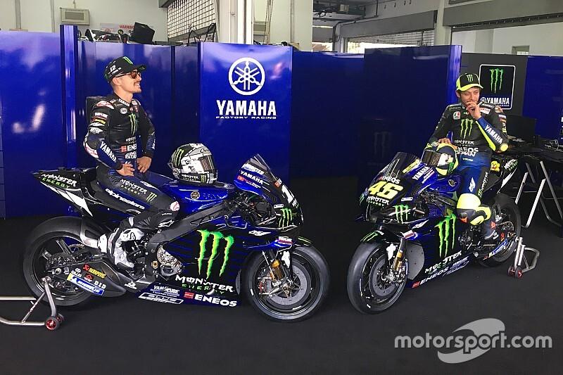 MotoGP: ecco l'ultima Yamaha ufficiale di Valentino Rossi
