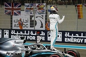 Abu Dhabi GP: Starting grid in pictures