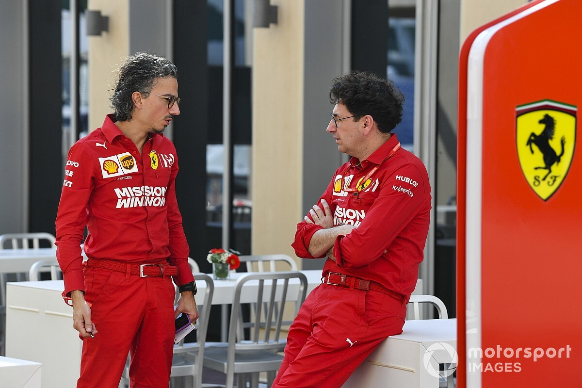 Ferrari doesn't need 'severe' changes - Binotto