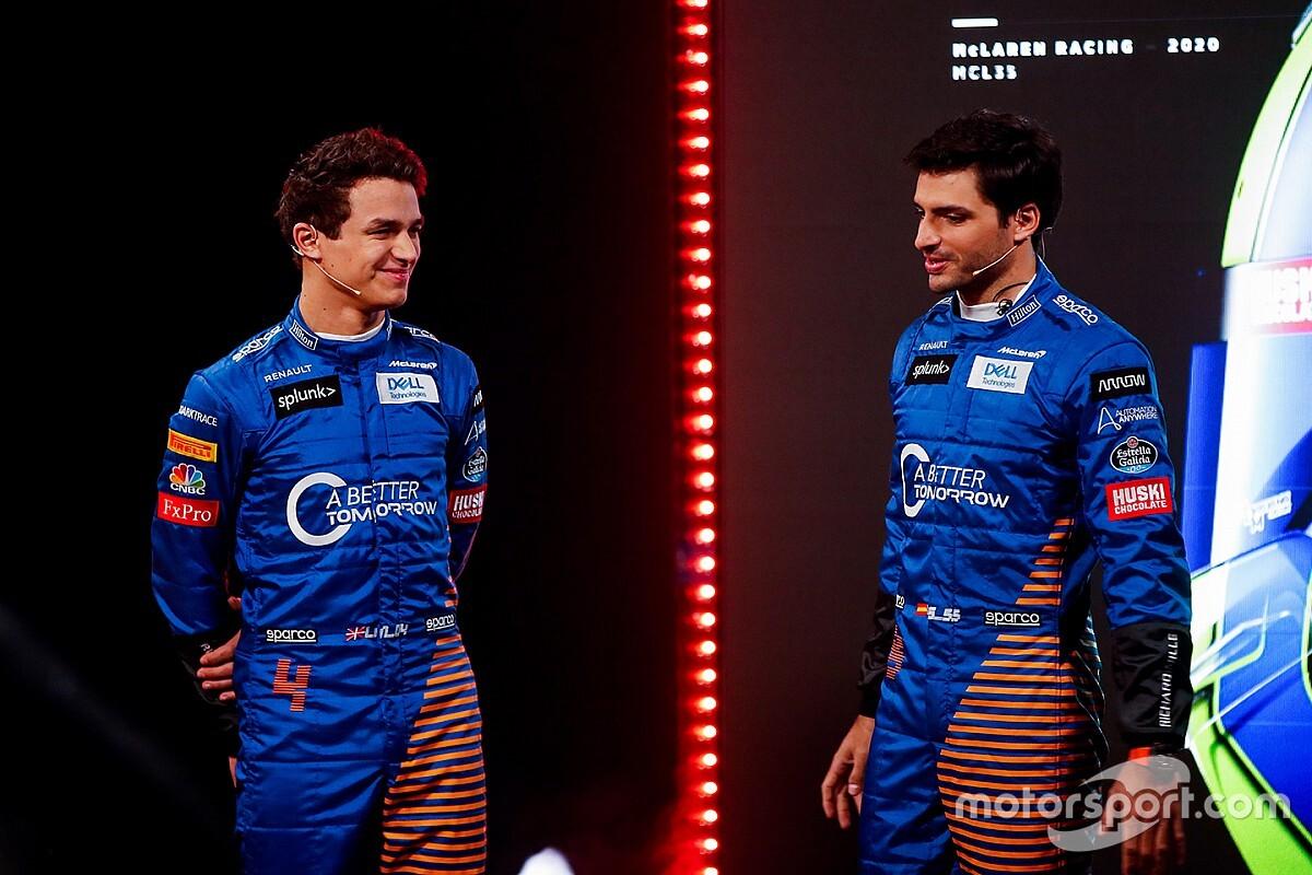 Norris nem fog kezet Sainzcal a McLarennél