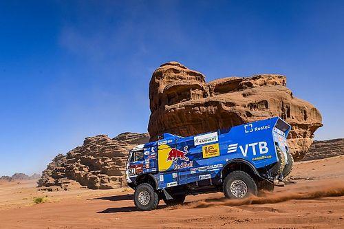 Dakar, Camion, Tappa 4: tripletta Kamaz