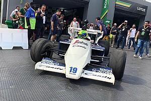Massa and Fittipaldis star in Ayrton Senna festival in Sao Paulo