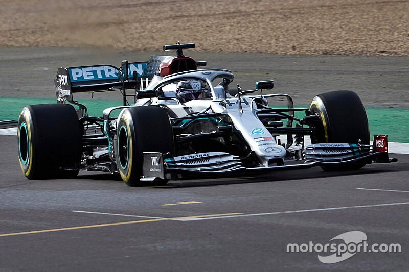 Watch: Bottas and Hamilton drive Mercedes W11 for the first time