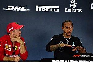 Hamilton et Vettel courent différemment contre Verstappen