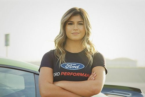 Hailie Deegan now Ford's newest NASCAR development driver