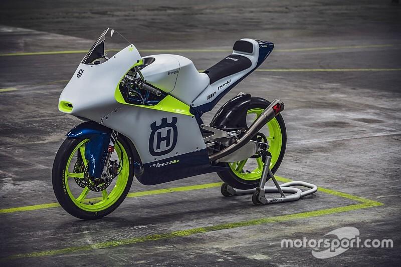 Husqvarna presenta la moto de su regreso a Moto3