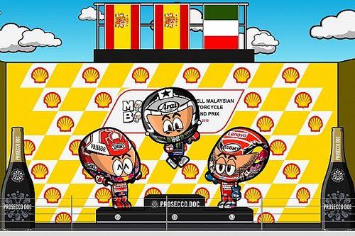 Vídeo: el GP de Malasia de MotoGP, por MiniBikers