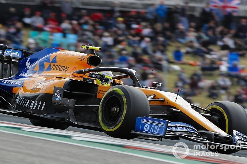 Norris: Single-lap quirk behind McLaren's misleading advantage