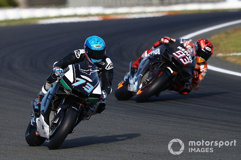 "Alex Marquez: ""Marc has said he won't tell me much"""
