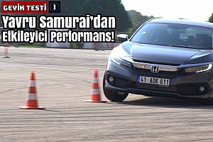 2019 Honda Civic 1.5 VTEC Turbo Geyik ve Slalom Testi