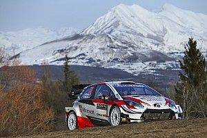 Monte Carlo WRC: Evans leads on Toyota debut