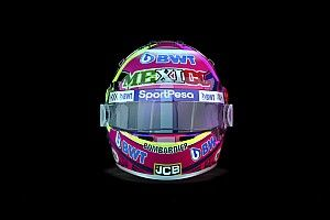 GALERÍA: el casco de Sergio Pérez para el GP de México