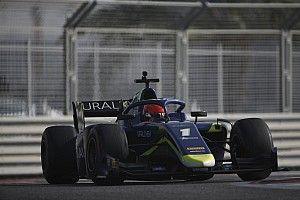 Test F2, Abu Dhabi, Giorno 3: Mazepin chiude in vetta