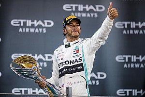 Otros récords de Hamilton y más estadísticas que dejó Abu Dhabi