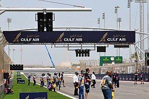 FIA installs extra set of start lights on Bahrain grid