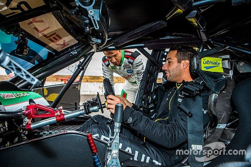 "Ricciardo ""50-50"" on future Bathurst 1000 start"