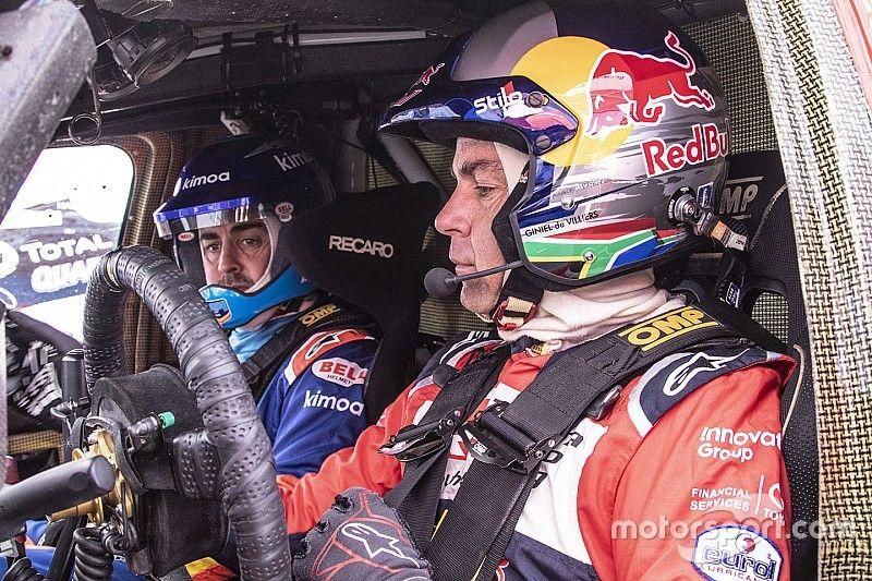 De Villiers: Alonso podría aspirar al Top10 en debut en el Dakar