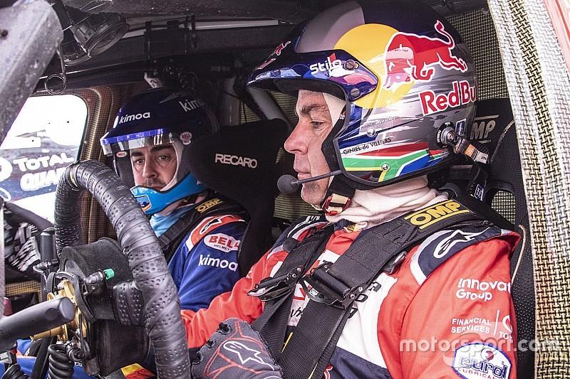 """De Villiers: """"Alonso busca un nuevo reto, pero tiene que decidir si venir al Dakar"""""""