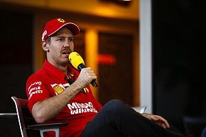 Video: Vettel ducks question about Ferrari's cooling