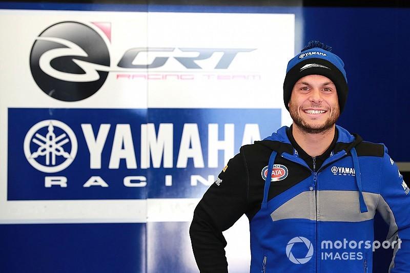 Sandro Cortese trotz Sturz schneller als Teamkollege Marco Melandri