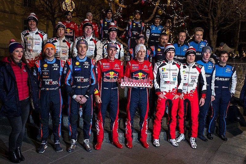 Fotogallery WRC: la entry list del Rallye Monte-Carlo 2020