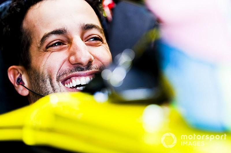 """Ricciardo """"vraiment excité"""" par un Hülkenberg """"pas lent du tout"""""""