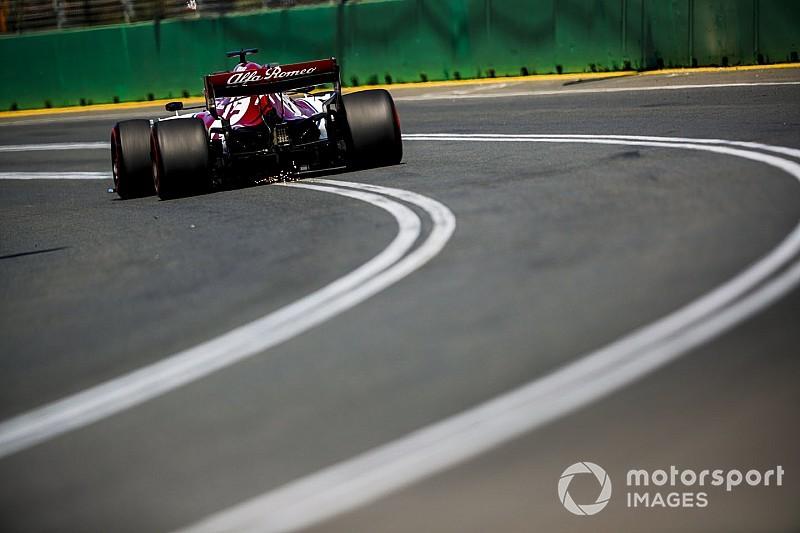 """Raikkonen over set-up Alfa Romeo: """"Tot nog toe niet slecht, maar kan beter"""""""