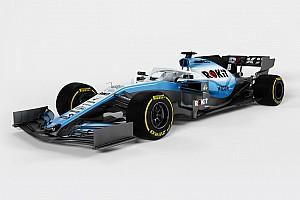 فريق ويليامز ينشر صورًا لسيارته لموسم 2019