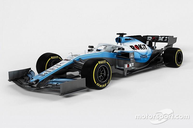 Williams reveals images of 2019 F1 car