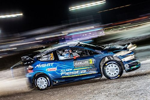 Suninen chiude in vetta la prima tappa del Rally di Svezia. Ogier e Latvala K.O!