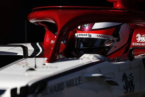 Através dos olhos de Kimi, veja como é volta no circuito de Barcelona