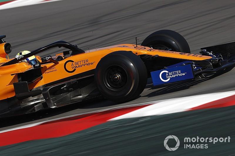 McLaren убрала с машин логотипы программы British American Tobacco