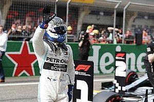 Bottas gana la pole para el GP1000 de la Fórmula 1
