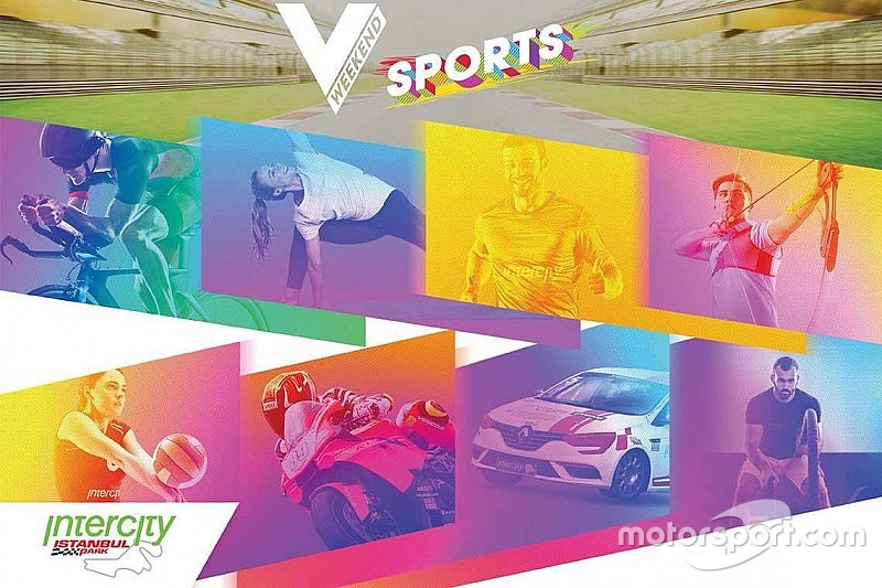 Intercity İstanbul Park'ın V Weekend Sports festivali yakında başlıyor