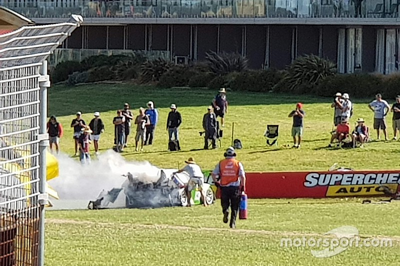 Bathurst hero opens up on why he stepped in after fiery crash