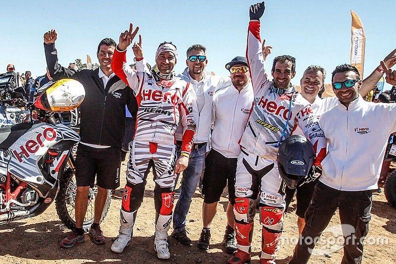 Merzouga Rally: India's Hero team scores impressive podium