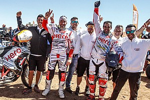 Merzouga Rally: India's Hero team scores impressive podium