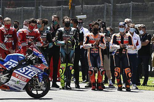 Fotos: MotoGP rinde tributo a Jason Dupasquier en la carrera de Mugello