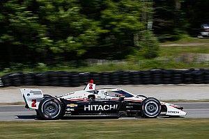 Road America IndyCar: Newgarden leads Herta in second practice