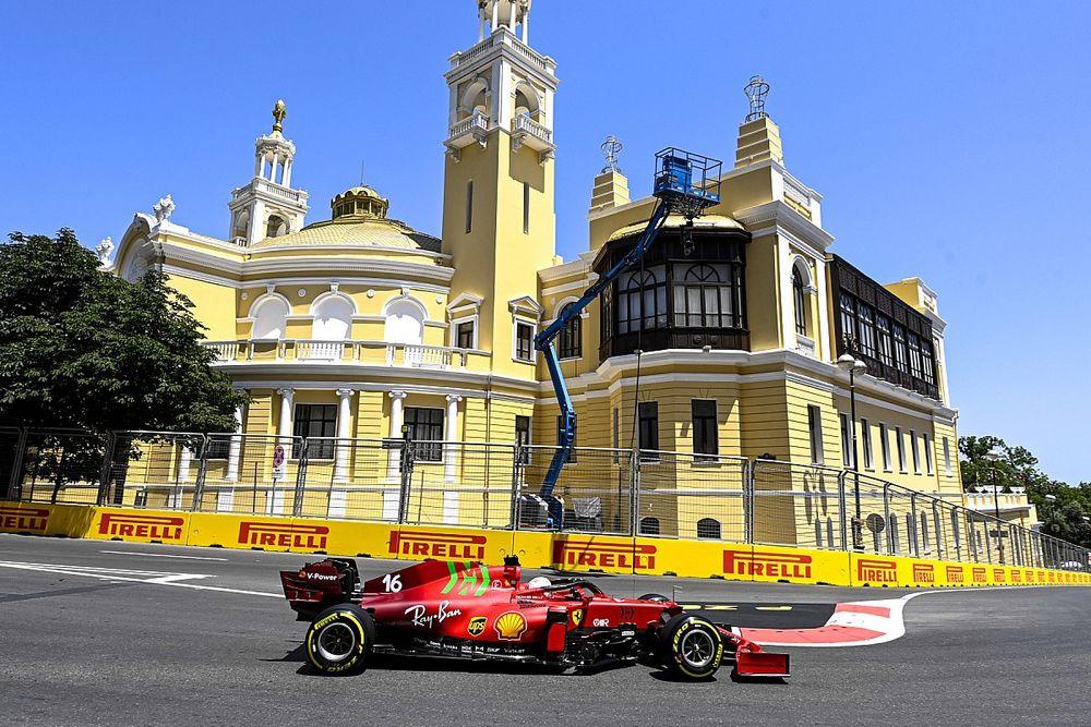 "Leclerc didn't expect Azerbaijan GP F1 pole after ""shit lap"""