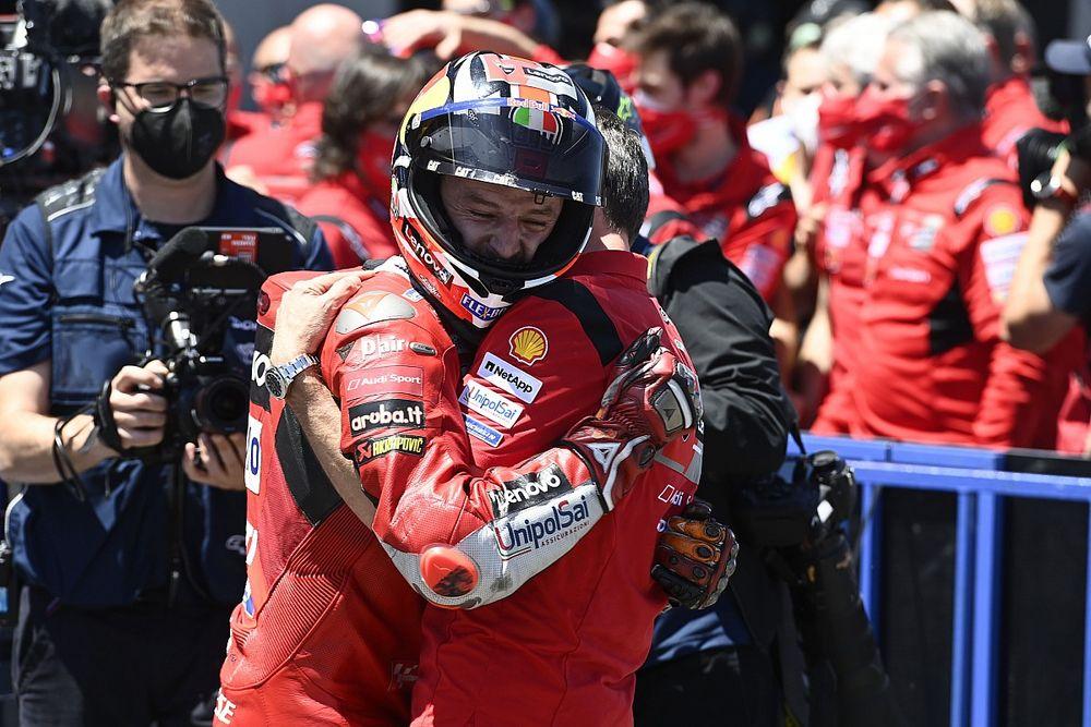 ジャック・ミラー、掴み取ったスペインGPでの2勝目に感極まる 「努力し続けて獲得した勝利」