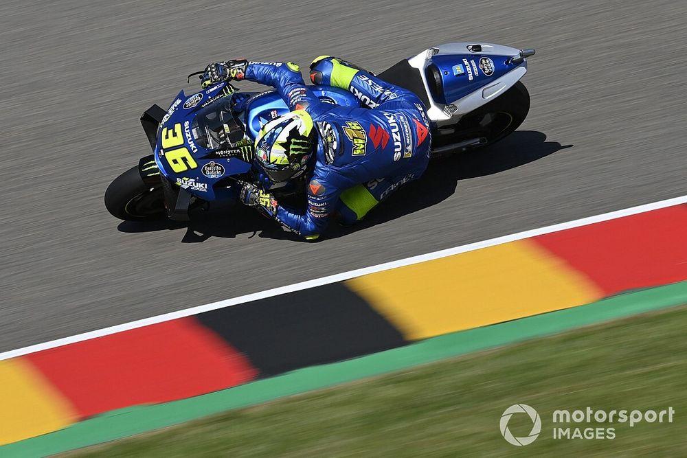 """Mir battling """"strange"""" braking issues in German MotoGP qualifying"""