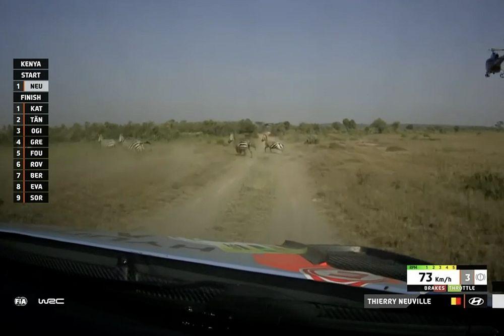 Safari Rallisi: Neuville liderliğini korudu, Katsuta ikinci